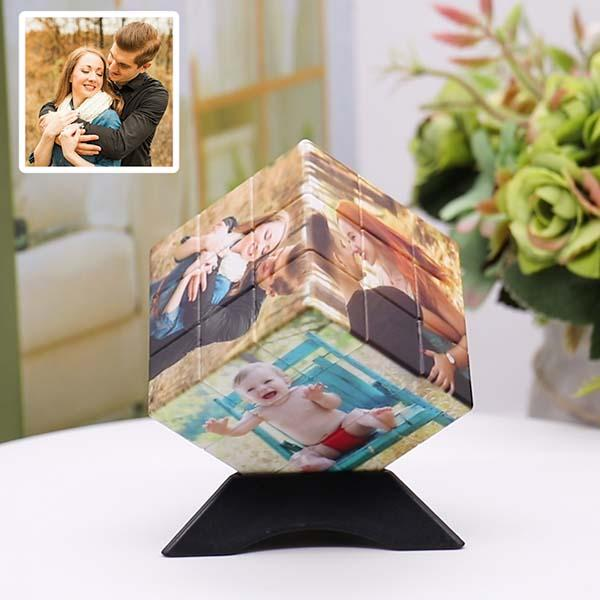 Personalized Photo Rubik's Cube Six Pictures